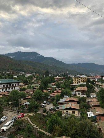 Modern hotel in Thimphu