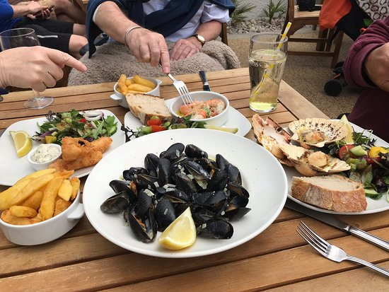 Outstanding food , blown away by the atmosphere, quality of the food and setting. You must visit if your going to Salcombe