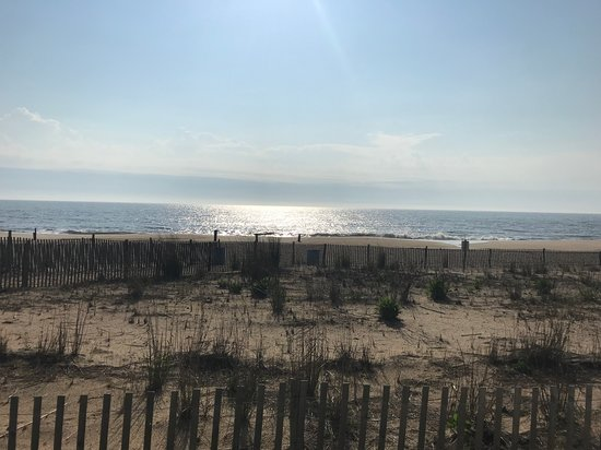 Rehoboth Beach seen from boardwalk 2019
