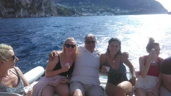 Capri Sea Tour: The best capitan