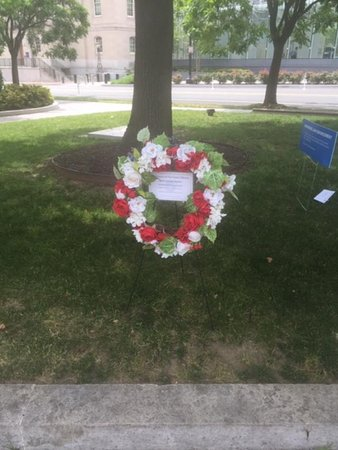 More wreaths being added every week. It is so, so sad. Most law enforcement personnel are just trying to do their jobs.