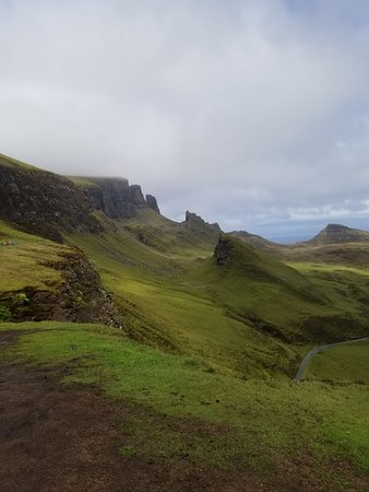 Tour de 4jours dans les Highlands de l'Ouest et l'île de Skye au départ d'Édimbourg : Quiraing views