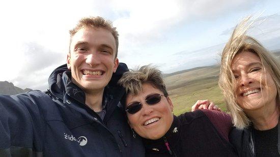 Tour de 4jours dans les Highlands de l'Ouest et l'île de Skye au départ d'Édimbourg : Nick, me and Michelle