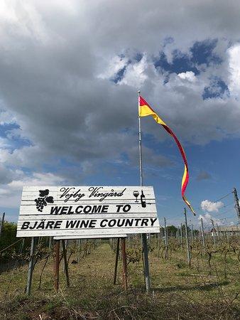 Vejbystrand, Sverige: Bjäre Wine Country