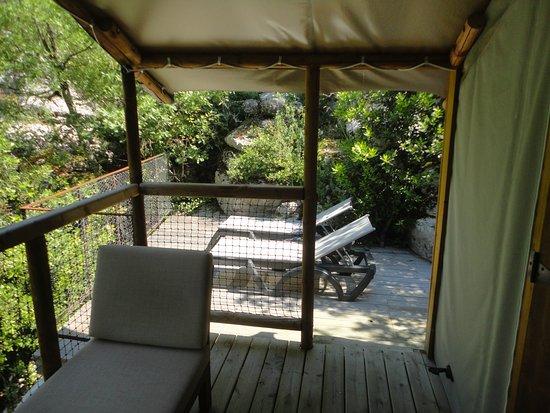 Notre terrasse.