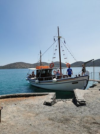 Spinalonga boat tour