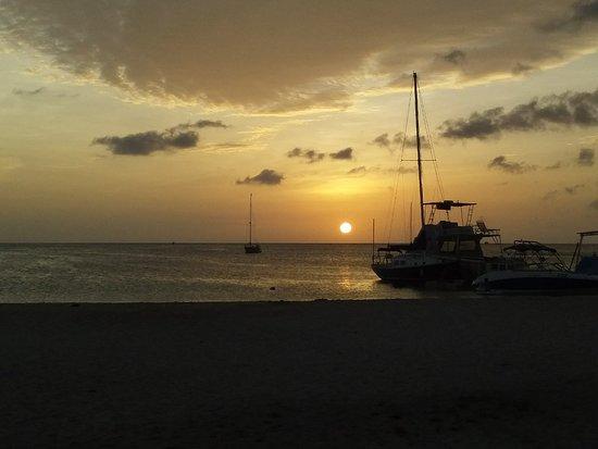 Oranjestad, Aruba: Sunset