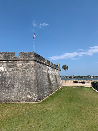 View from the outside of fort