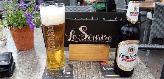 Le Sourire: Alcoholvrij pilsje kan ook lekker zijn.