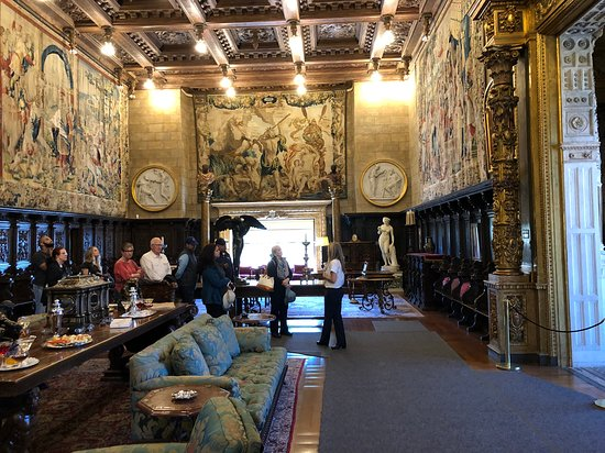 ‪‪Hearst Castle‬: Another angle of the Assembly Room‬