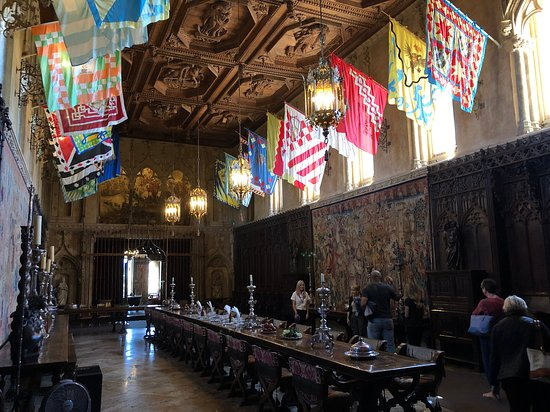 ‪‪Hearst Castle‬: The Refectory or dining room‬