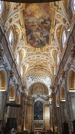 Beautiful, opulent, quiet church