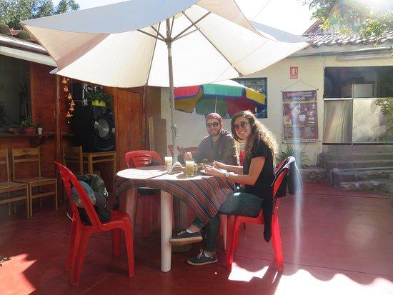 Calle Blancos, Costa Rica: Menu del dia ..!!!  excelente atención