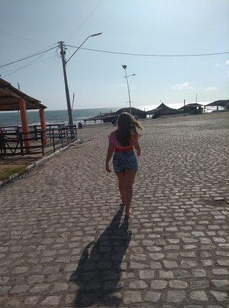 Majorlandia Beach: calçadão para a praia