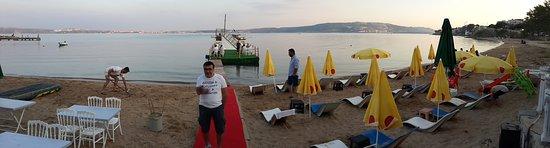 Tatlisu, Турция: Denize sıfır