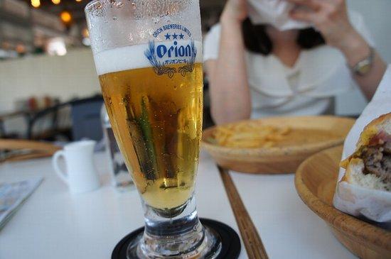 Jetta Burger Market: オリオンビール