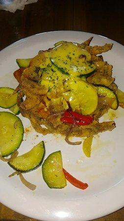 Eliza Restaurant & Bar: Fried soft shell crab