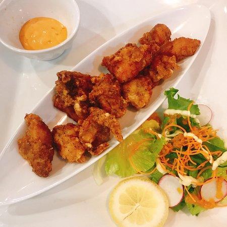 Hojo's Japanese Cuisine: 炸鸡块,菜单上叫Karaage,每次去必点之一