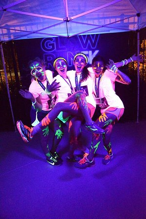 What pairs well with Lazor night? Glow night at THE SPOT. So much fun you'll glow.