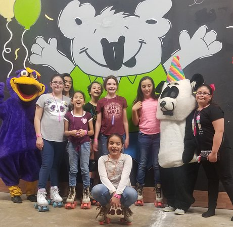 Birthday Party Bunch with Kooky the Bird. Birthday parties are always such a blast at THE SPOT FEC.  An unforgettable birthday experience is always assured.