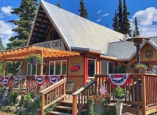 Creekside Cafe on July 4th