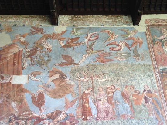 Camposanto: ...dal trionfo della morte. Buffalmacco - Pisa