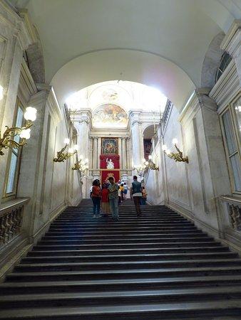 Palacio Real de Madrid: La Escalera Principal