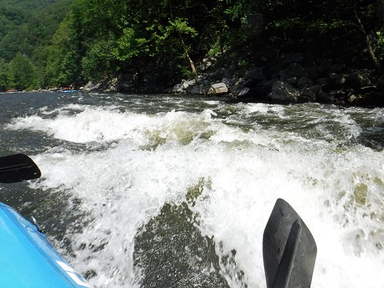 Upper Pigeon River Rafting Trip from Hartford: A taste of what you will go through. Completely awesome!