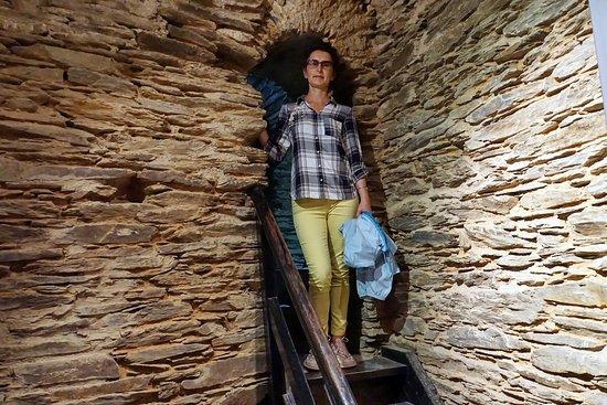 Turm Museum: この四角い塔がミュージアムになっています