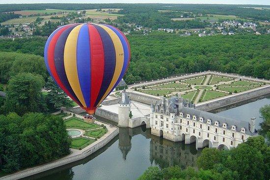 Paseo en globo por el Loira Valley
