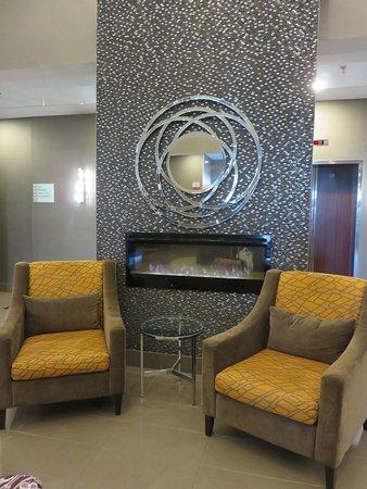Inviting lobby area