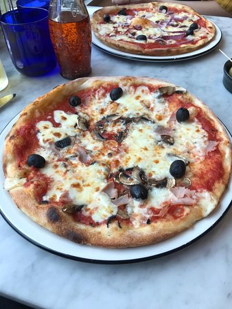 Pizza Express Hastings Unit Su44 Priory Mdw Menu
