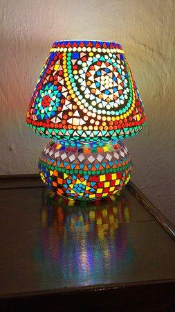 Surjivan Resort: Lamp 😊