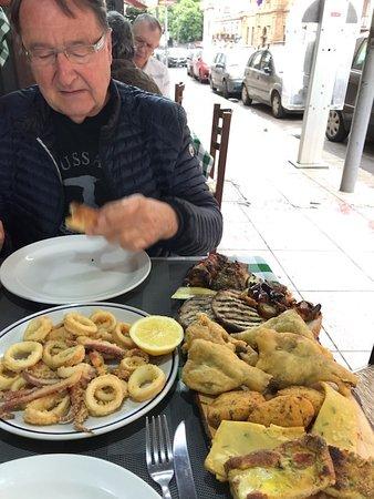 Da Mimì: Plateau de spécialités siciliennes - Un régal -
