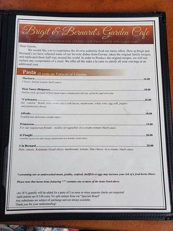 Brigit & Bernard's Garden Cafe