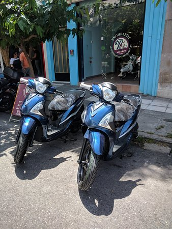 Panos Rent a Scooter, Sym Symphony ST 125 ABS,Liquid Cooled