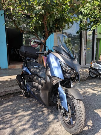 Panos Rent a Scooter, Yamaha X Max 300cc ABS, Traction Control