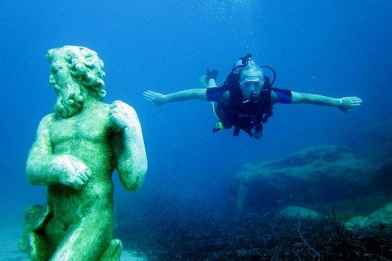 一个本地引导潜水