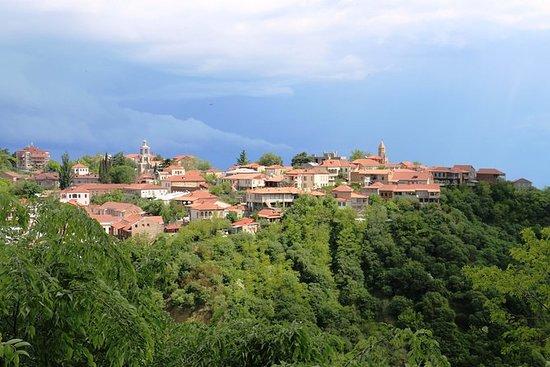 Kakheti i regiongruppen tur fra Tbilisi...