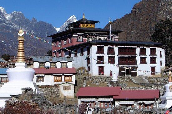 Caminhada no Campo Base do Everest...