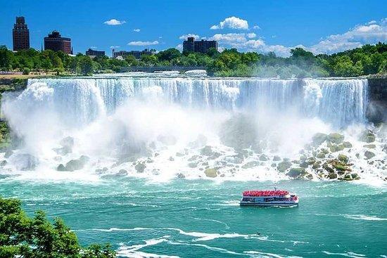 Tour del Niagara Falls con crociera in
