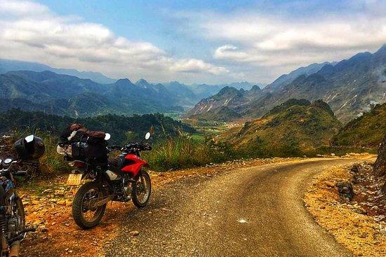 4天通过摩托车探索东范喀斯特高原地质公园