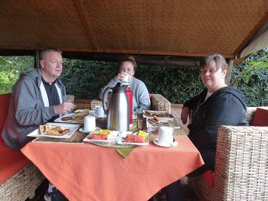 Supreme Adventure Park Bunyonyi: Fantastic breakfast