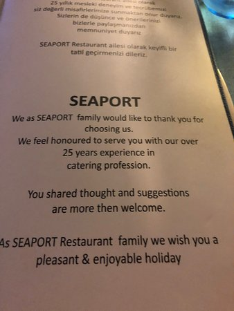 Seaport Restaurant