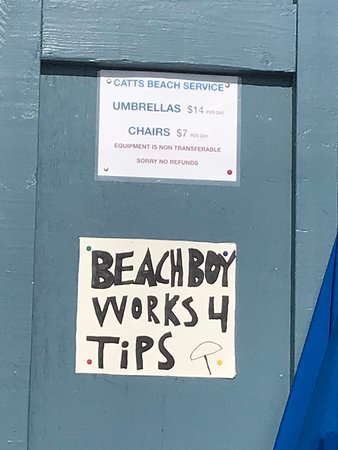 Umbrella and Chair Rental Pricing on Rehoboth Beach 2019