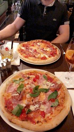 Marina Ristorante: Pizza basilicata