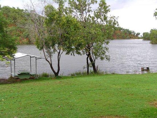 Copperfield Dam Park Area