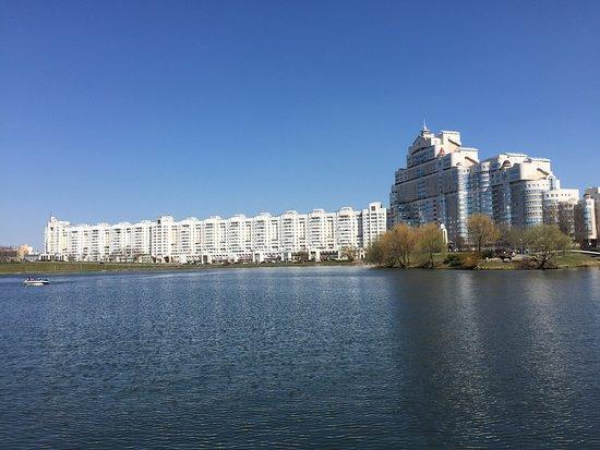 Svislach River Embankment