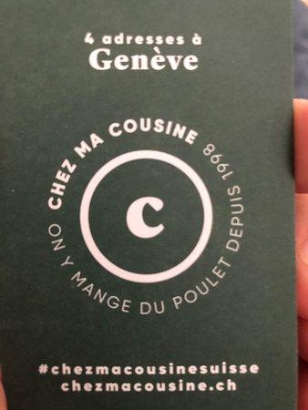 Chez Ma Cousine Vieille-Ville