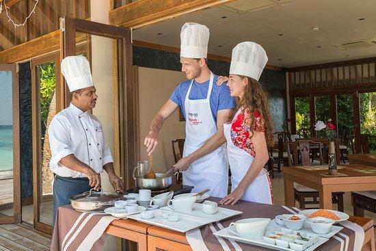 Veligandu Island Resort & Spa: Cooking Class